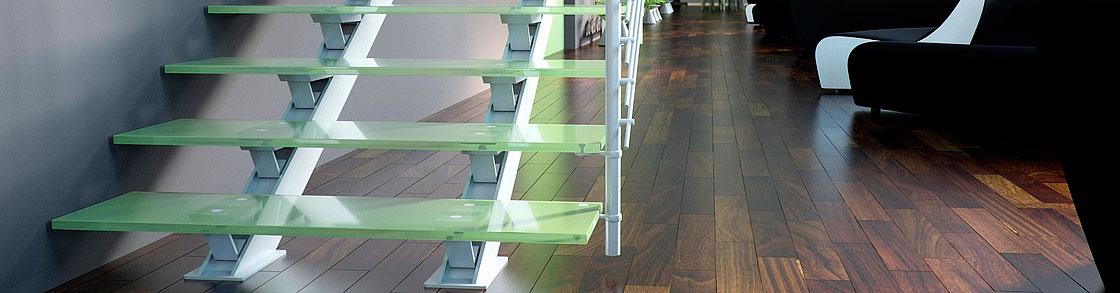 Scale moderne in vetro per un design esclusivo - Scale in vetro ...